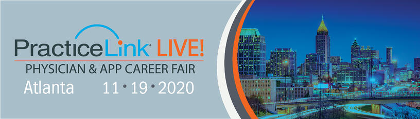 2020 PracticeLink Live! Physician Career Fair Atlanta 1
