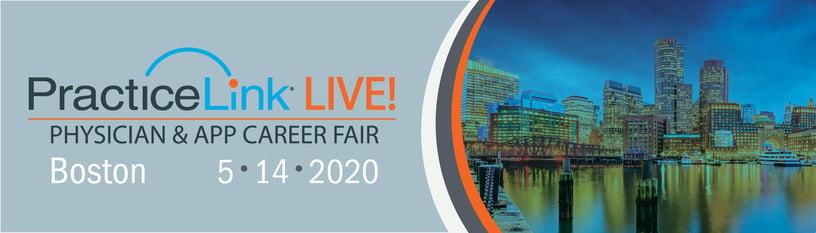 2020 PracticeLink Live! Physician Career Fair Boston 1