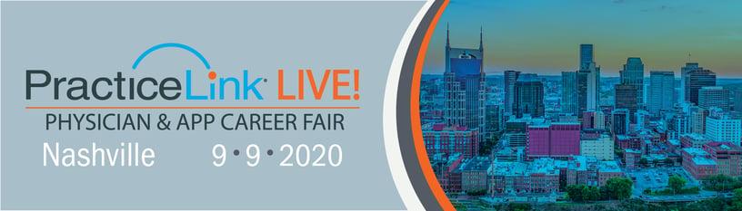 2020 PracticeLink Live! Physician Career Fair Nashville