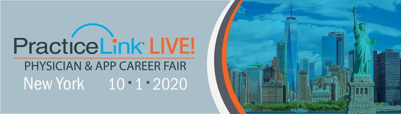 2020 PracticeLink Live! Physician Career Fair New York