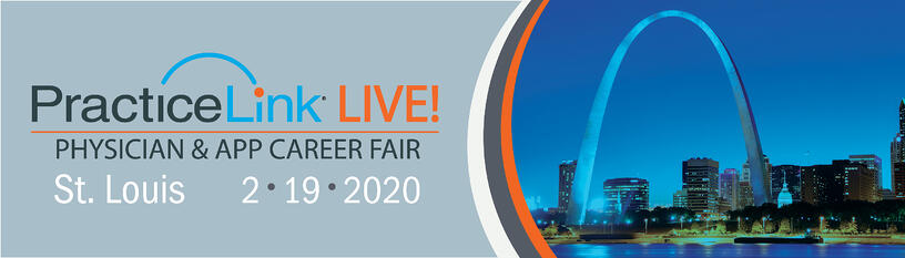 2020 PracticeLink Live! Physician Career Fair St Louis